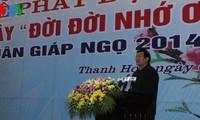 Vietnamesische Staatsführung startet Baumpflanzen-Fest