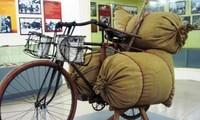 """Materiallieferungen auf Fahrrädern und """"Quang Ganh"""" während der Dien Bien Phu-Schlacht"""