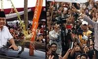 Präsidentschaftswahl in Indonesien: Spannendes Rennen zwischen Kadidaten