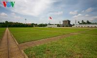 Historischer Ba Dinh-Platz und Erinnerung an das Treffen am Nationalfeiertag