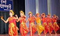 Erhaltung des Ro-bam-Tanzes der Volksgruppe der Khmer.