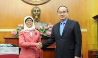 Singapur ist zuverlässiger Partner Vietnams