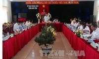 Delegation der Kommission für ethnische Minderheiten besucht die Provinz Phu Yen