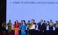 """Verleihung des Preises """"Goldene Marke für vietnamesisches Nahrungsmittel"""""""