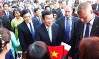 Staatspräsident Truong Tan Sang besucht Tschechien