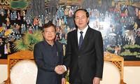 Minister Tran Dai Quang trifft Delegation des kambodschanischen Innenministeriums