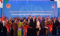 Ban Ki-moon nimmt an Einweihung des Green One UN House in Vietnam teil