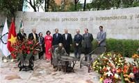Erweiterung des Ho Chi Minh-Denkmals in Mexiko