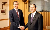 Minister Tran Dai Quang trifft Minister Australiens