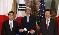 USA, Japan und Südkorea arbeiten zur Lösung der Nordkorea-Frage zusammen