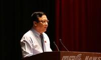 Vize-Parlamentspräsident Huynh Ngoc Son trifft Wähler der Stadt Danang