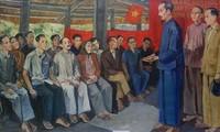 Landeskonferenz in Tan Trao - dem heutigen vietnamesischen Parlament