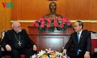 Nguyen Thien Nhan trifft deutschen Kardinal Reinhard Marx