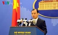 Vietnam fordert China zum Respekt der Souveränität Vietnams auf