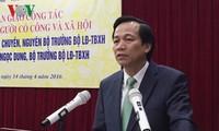 Integration: Verbesserung der Berufsfähigkeit vietnamesischer Arbeitskräfte