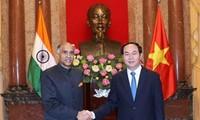 Staatspräsident Tran Dai Quang trifft neue Botschafter in Vietnam