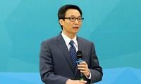 Vize-Premierminister Vu Duc Dam nimmt an UN-Aids-Konferenz teil
