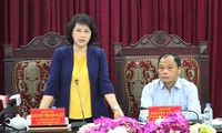 Parlamentspräsidentin Nguyen Thi Kim Ngan besucht Provinz Bac Kan