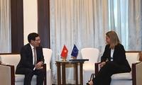 Vietnam will die Zusammenarbeit mit der EU fördern