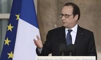 Anschlag mit Lkw: Frankreichs Präsident Francois Hollande spricht vom Terrorakt