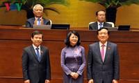 Dang Thi Ngoc Thinh ist zur Vize-Staatspräsidentin wiedergewählt