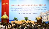 Diplomatie dient vor allem den Zielen zur nachhaltigen Entwicklung des Landes