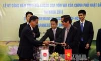 Japanische Entwicklungshilfe für Vietnam im Wert von 106 Millionen US-Dollar