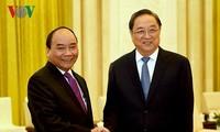 Premierminister Nguyen Xuan Phuc trifft den Vorsitzenden der PKKCV