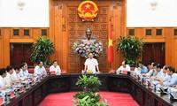 Der Premierminister tagt mit Leitern der Provinz Quang Nam und der Stadt Danang