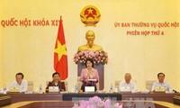 Eröffnung der 4. Sitzung des Ständigen Parlamentsausschusses