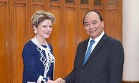 Premierminister Nguyen Xuan Phuc trifft Staatsekretärin der Schweiz Ineichen-Fleisch