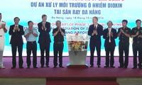 Start der 2. Phase des Projekts zur Dioxin-Entgiftung am Flughafen Danang