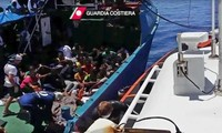 1400 Flüchtlinge im Mittelmeer gerettet
