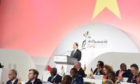 Aktivitäten von Tran Dai Quang im Rahmen des Gipfeltreffens der Frankophonie