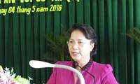 Nguyen Thi Kim Ngan trifft Wähler des Bezirks Ninh Kieu in Can Tho