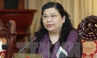 Vize-Parlamentspräsidentin Tong Thi Phong besucht Provinz Son La
