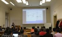 Wissenschaftliches Seminar junger vietnamesischer Akademiker in Tschechien