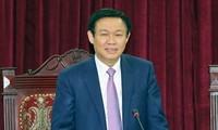 Vizepremierminister Vuong Dinh Hue tagt mit Leitern der Provinz Bac Kan