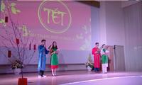 Vietnamesische Studenten in Russland feiern das Neujahrsfest Tet