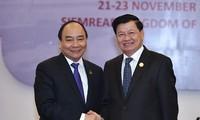 Vietnam und Laos verstärken ihre traditionell besonderen Beziehungen