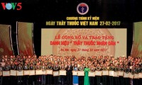 Tran Dai Quang nimmt an Feier zum Tag der vietnamesischen Ärzte teil