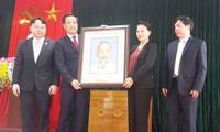 Nguyen Thi Kim Ngan besucht Kreis Nam Nhun in Lai Chau