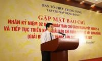 Zentralpersonalabteilung der KPV kooperiert mit Presse in Parteiaufbau