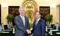 Politische Konsultation zwischen Vietnam und Belgien