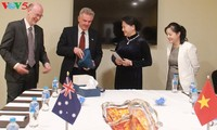 Die Parlamentschefin trifft Delegation australisch-vietnamesischer Freundschaftsgesellschaft