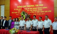 Truong Thi Mai besucht Armeeeinheiten in Ho Chi Minh Stadt
