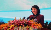 Dang Thi Ngoc Thinh nimmt an Bilanzkonferenz über Wettbewerbe und Auszeichnungen teil
