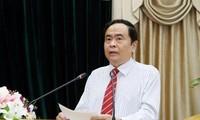 Konferenz zur Bilanzierung der Tätigkeiten der vaterländischen Front von Ho Chi Minh Stadt