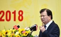 Vizepremierminister Trinh Dinh Dung nimmt an Konferenz des EVN teil
