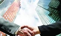 Verstärkung der Zusammenarbeit mit Völkern anderer Länder durch Außenpolitik